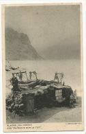 Des Traineaux Sur Le Toit Slaeder Paa Hustag Photo A. Bertelsen Pavillon Danemark 1931 Eskimos - Greenland