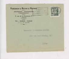 COB 768 Sur Lettre De 1950 Assurances Forgeron - Boyne  - Huynen - Unclassified