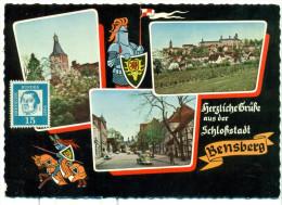 Herzliche Grüsse Aus Der Schlossstadt Bensberg - Mehrbild - VW Käfer - VW Kever - Bergisch Gladbach