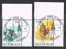 Année 1983 - COB 2082 à 2083 - Oblitération Premier Jour - Croix-Rouge De Belgique. - Belgium
