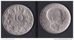 Serbia 10 Dinari 1938 - Serbie