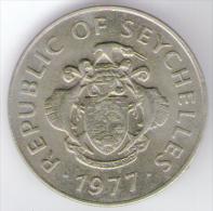 SEYCHELLES 1 RUPEE 1977 - Seychelles