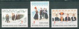 Collection FINLANDE ; FINLAND ; 1976 ; Lot 21 ; Y&T N° 755 à 757 ;  Neuf  Ttbe - Neufs