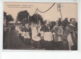 QUEZAC - Défilé Des Evêques, 9 Septembre 1920 - Très Bon état - Autres Communes