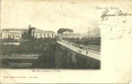 Cava Dei Tirreni     -      Via Che Conduce A Vietri    ( Carte Abimée ) - Sin Clasificación