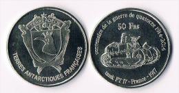 TERRE ADELIE  50 Francs 2014-  Tank - Colonies