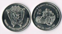 ILES CROZET  50 Francs 2014-  Tank - Colonies
