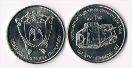 ILES AMSTERDAM&ST.PAUL  50 Francs 2014-  Tank - Colonies
