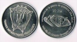 ILE KERGUELEN  50 Francs 2014-  Tank - Colonies