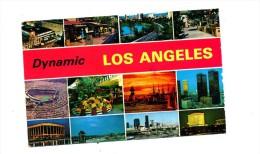 Carte Los Angeles Multi Vue Flamme Muette Van + Plume +taxe - Vereinigte Staaten