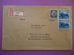 Einschreibebrief Von Celle Nach Osterode, 10.09.41 (siehe Bilder ) - Deutschland