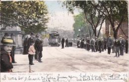 BOSTON MASS  PUBLIC GARDEN (ENTRANCE TO SUBWAY) 1906 - Boston