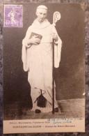 FONTAINE-LES-DIJON (21).STATUE DE SAINT-BERNARD.CIRCULE 1928.TBE. - Sonstige Gemeinden