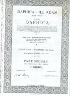 Daphica - Ile Adam  -  Lambermont-Verviers - Textile