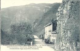 74 - Route De Rumilly à Seyssel - Haute-Savoie - Le Val De Fier - Hôtel-Restaurant à L'entrée Des Gorges... - Autres Communes