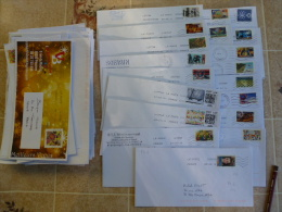101 ENVELOPPES RÉCENTES ( ANNÉES 2011-2014 )+ - Poststempel (Briefe)