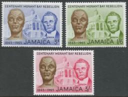 Jamaica. 1965 Centenary Of Morant Bay Rebellion. MH Complete Set - Jamaica (1962-...)