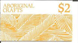 Aus-Heftchen/ Native Art Booklet With 6 Stamps