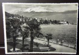 GARDONE RIVIERA 1939 24 Lug CARTOLINA FOTOGRAFIA LAGO DI GARDA -FASANO X L'ESTERO -USO SINGOLO Proclamazione Impero 75 C - Brescia