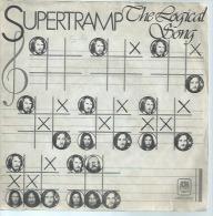 """45 Tours SP - SUPERTRAMP   -  AM 6892  """" THE LOGICAL SONG  """" + 1 - Otros - Canción Inglesa"""