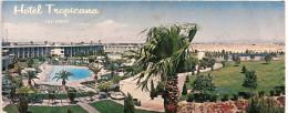 NEVADA-LAS VEGAS: LONG POSTCARD HOTEL TROPICANA. LARGA  POSTAL DEL  HOTEL TROPICANA EN LAS VEGAS. GECKO.