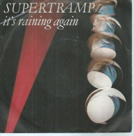 "45 Tours SP - SUPERTRAMP   -  AM 9230  "" IT'S RAINING AGAIN  "" + 1 - Otros - Canción Inglesa"