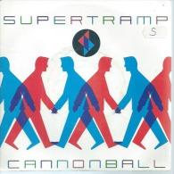 """45 Tours SP - SUPERTRAMP   -  AM 390012  """" CANNONBALL  """" + 1 - Otros - Canción Inglesa"""