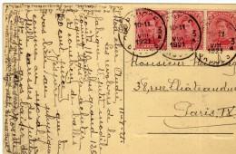 1509 Postal Belgica 1921 Bruges Brugge - Bélgica