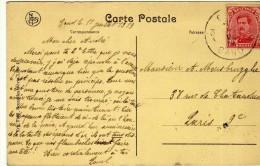1510  Postal Belgica 1919 Gand - Bélgica