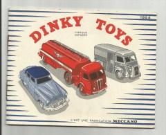 DINKY TOYS - Catalogue 1954 MECCANO - Non Classés