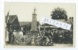 Carte Photo - Hedauville - Monument Aux Morts - Non Classés