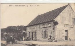 02 CYS LA COMMUNE / CAFE DE LA GARE       /////   MARS 2014 /   REF BO 02  ABC - Frankrijk