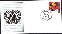United Nations New York 2009 FDC With International Day Of Non Violence - New York - Sede De La Organización De Las NU