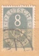 Germania - 1951 - Usato/used - Ordinari - Mi N. 127 - [7] Repubblica Federale
