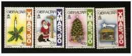 Gibilterra - 1990 - Nuovo/new - Natale - Mi N. 609/12 - Gibilterra