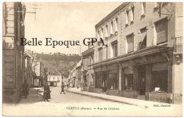 51 - VERTUS - Rue De Châlons +++++++ Édit. Doublet ++++++ RARE / Cliché PAS Sur Delcampe - Vertus