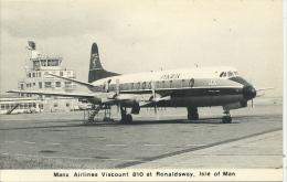 IOM - MANX AIRLINES VISCOUNT 810 AT RONALDSWAY - Isle Of Man