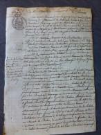 17 Le Gua, Marennes 1841, Procès A. Brouhard Vs A. Marion De La BRILLANTAIS ; Duc De Richelieu ; Ref797 - Historical Documents