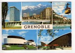 CP 10*15/BB40/GRENOBLE MULTIVUES 1971 - Grenoble