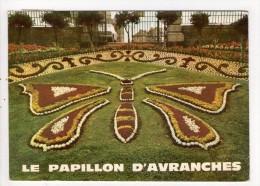 CP 10*15/BB69/AVRANCHES JARDIN DES PLANTES  LE PAPILLON 1979 - Avranches
