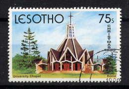 LESOTHO - N° 408° - CHAPELLE DE L'UNIVERSITE - Lesotho (1966-...)