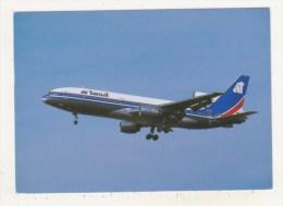 AVIATION - PARIS ORLY - AVRIL 1989 - CPM - AIR TRANSAT - L1011 TriStar 100 - C-FTNC Cn 1023 - - 1946-....: Moderne