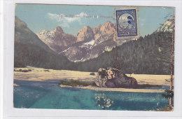 SLOVENIA VELIKA PISENCA ;RAZOR I PRISOJNIK Nice Postcard - Slovenia
