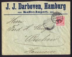 1899   Reichsadler Im Kreis  MiNr 47e Einzelfrankatur - Deutschland