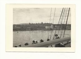 Photo, Personnes sur un bateau - dim : Env. 9 cm x 6.5 cm