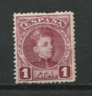 Spain 1901 Sc 284 Mi 215 Mint King Alfonso XIII CV $30.00 - 1889-1931 Kingdom: Alphonse XIII