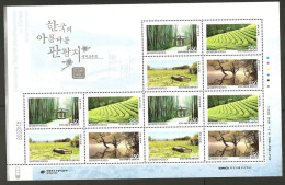 O)2011 KOREA, TREES, MANGLAR, MINI SHEET MNH - Korea (...-1945)