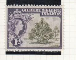 QUEEN ELIZABETH II - 1956 - Isole Gilbert Ed Ellice (...-1979)