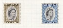 QUEEN ELIZABETH II - 1953 - Grenada (...-1974)