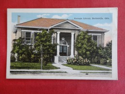 - Oklahoma > Bartlesville  Carnegie Library  Not Mailed   Ref 1231 - Bartlesville
